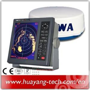 10.4 Coloe Lcd 36nm Marine Radar With Ais Display