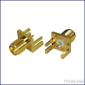SMA Rf Connector Female Socket For PCB Mount