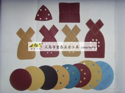 Abrasive Velcro Disc, Hook and Loop Sanding Discs