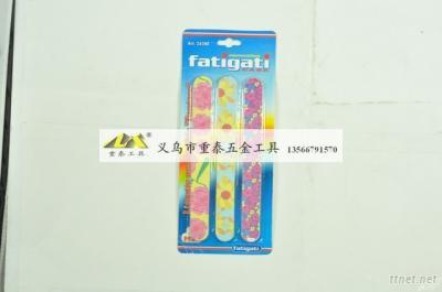 7 Inch Nail File with PVC Sleeve/nail files