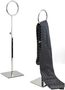Stainless Steel Tie Stand Rack Holder For Retail