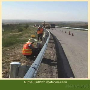 Traffic Guardrail 4320*310*85*4Mm National Standard Zinc Coated 600G For Highway