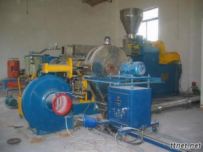 PVC Powder/Medical Material Two Stage Compounding Extruder