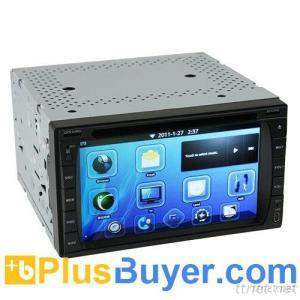 6.2 Inch Touchscreen 2-DIN Android Car DVD