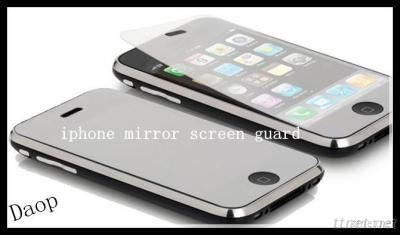 Smooth Mirror Screen Protective Film For Iphone4