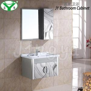 Stainless Steel Bathroom Vanity And Mirror Cheap And Modern A-027