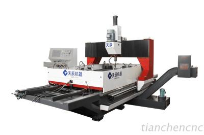 CNC Gantry Moveable Dual-Worktable Drilling Machine