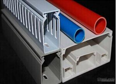 Slotted And Solid PVC Cable Duct Trunking