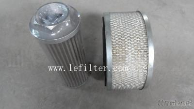 HYDAC Hydraulic Filter Replacement, Industrial Pleated Cartridge Filter