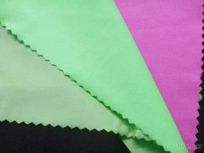 Polyester Spandex Single Jersey Fabric