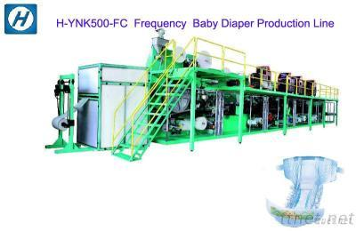 Frequency High Speed Baby Diaper Machine