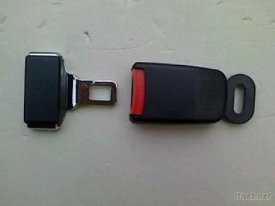 Simple 2-Point Seat Belt Buckle&Tongue