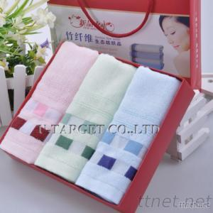 2PCS/Lot 100% Natural Bamboo Fiber Towels