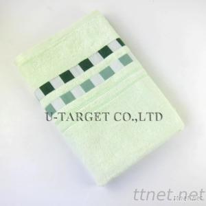 Large Size 140X70Cm Knitted 100% Bamboo Fiber Cooling Towel Bamboo Fiber Bath Towel