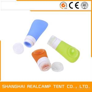 Wholesale Cute And Small Refillable Container Squeezable Silicone Travel Bottle