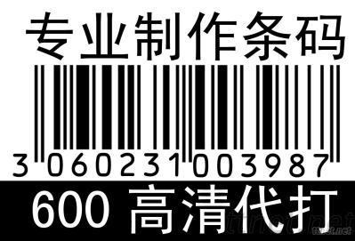 Professionally Produced Barcode Labels