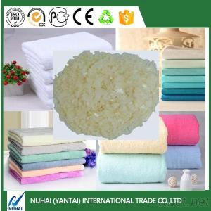 Softener flake for cotton and yarn