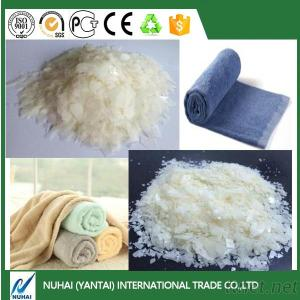Textile industry Softener flake for denim fabric washing