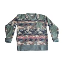 Military Pullover Sweater Jersey Camouflage Pullover Sweater Jersey