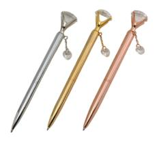 Exquisite and fashionable Swarovski heart-shaped charm ballpoint pen B88H-T20