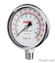 All Stainless Steel Pressure Gauge SUS
