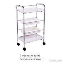 JM-82762 Beauty Instrument Trolley, Hair Salon Trolley