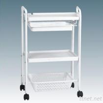 JM-2A8008 Beauty Salon Instrument Trolley, Hair Salon Trolley