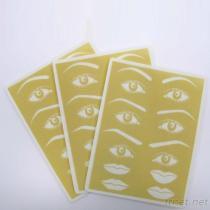BBP-2 Eyebrow And Lip Tattoo Practice Sponge Pad, Permanent Makeup Practice Materials, Tattoo Disposable Needle Series