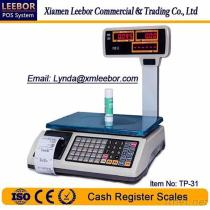 TP-31 Digital Pricing/ Counting Scale, Supermarket POS Receipt/ Bill Printing Weighing, Thermal Printer Multi-Language Scales