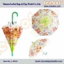 The Cheaper Poe/PVC Clear Childrens/Kids Umbrella With Whistle/ L-K010, Pongee, Kids Umbrella, Fold Umbrella, Golf Umbrella, Straight Umbrella