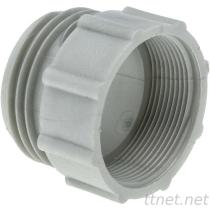 """PP IBC Tank Adapter/Fitting DIN61 Male to 2"""" BSP Female Plastic Drum Coupling"""