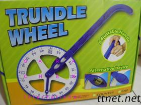 Meter Trundle Wheel With Counter