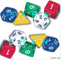 Polyhedral Dice (Number Dice)