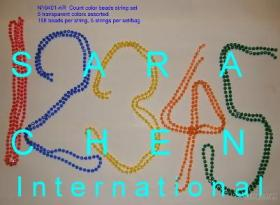 Count Color Beads String Set