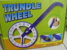 Meter Trundle Wheel With Counter (Measuring Distance Kit)