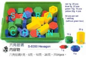 Hexagon Weights