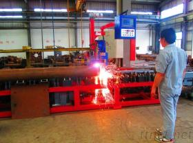 Roller-Bed-Type Pipe Plasma Cutting And Beveling Machine