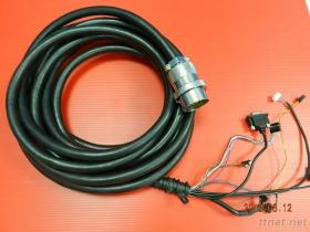 Military 37 PIN Male Cable