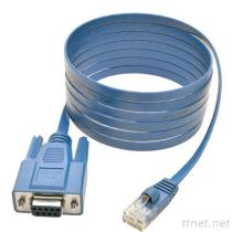 RJ45 To DB9F Cable