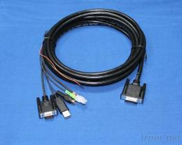 OEM Cable Assembly 25 Pins To Stereo Plug
