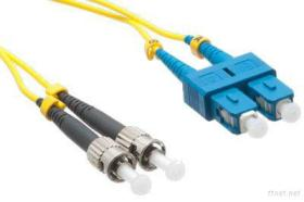 fiber optic cable, SC to ST