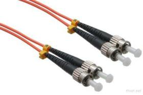 Fiber optic cable, ST to ST