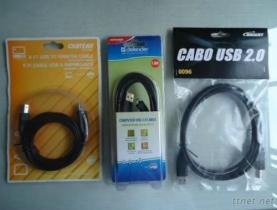 A Male To A Female USB Cable