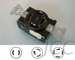 引挂式暗插座(Twist-lock Flush Mounting Socket)
