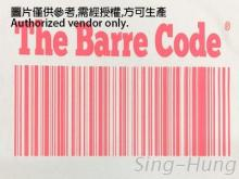 The Barre Code 熱轉印標